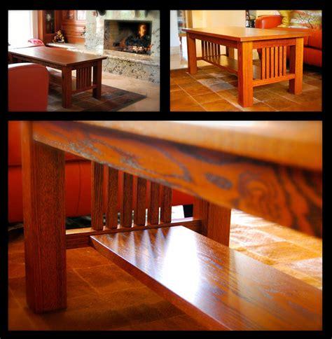 coffee table   fabulous orange  brown dye stain mix