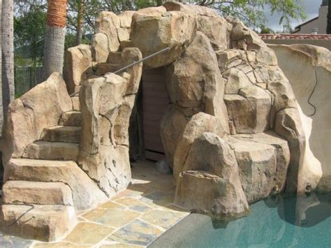 Cave Backyard by Faux Rock Caves Cave For Backyard Landscapes Aaa