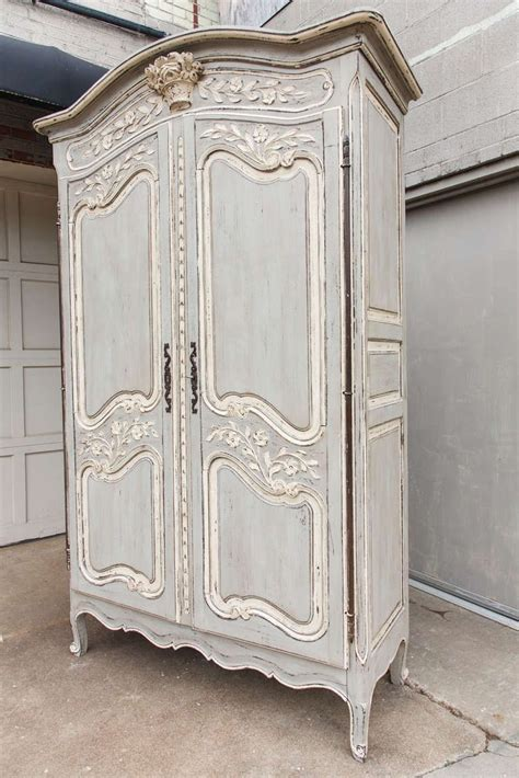 Painted Armoire Furniture Painted Louis Xv Armoire From A Unique Collection Of
