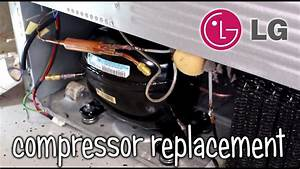 How To Replace Lg Refrigerator Compressor Lmx28988st