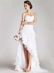 Short and high low dress anyone havepics please weddingbee for High to low wedding dress