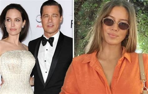 Brad Pitt's girlfriend hits back after being accused of ...