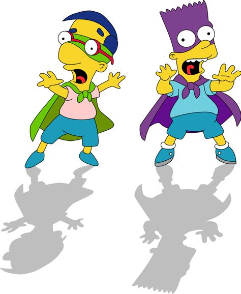 Houseboy and Bartman by Mighty355 on DeviantArt in 2020 ...