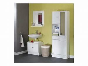 armoire de salle de bain conforama With porte de douche coulissante avec glace salle de bain conforama