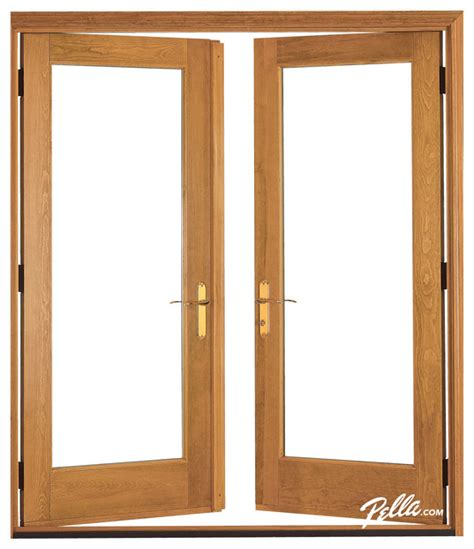 pella 174 architect series 174 hinged patio door contemporary