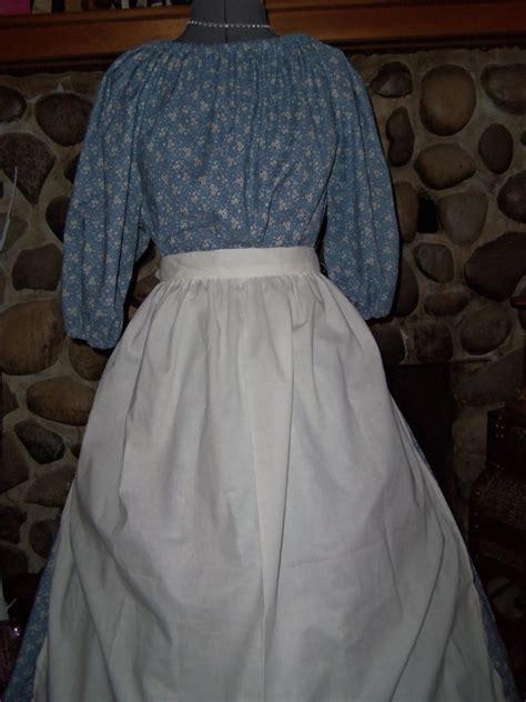 girls pioneer prairie colonial dress costume civil war