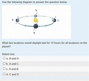 Solved  Use The Following Diagram To Answer The Question B