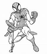 Coloring Lego Spiderman Pages Azcoloring Credit Larger sketch template