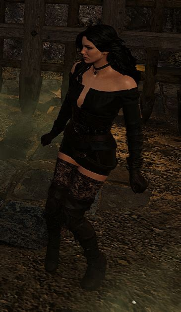 yennefer dlc remove scarf and loincloth at the witcher 3 nexus mods and community