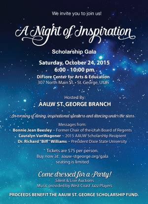 american association  university women host  night