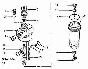 Craftsman Model 282160172 Air Regulator Gauge Genuine Parts