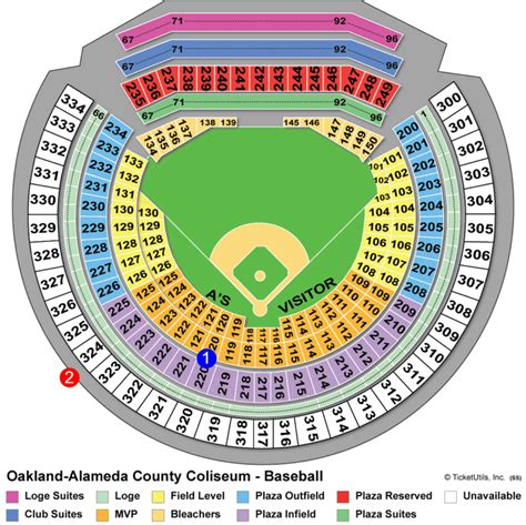 ballpark seating charts ballparks  baseball
