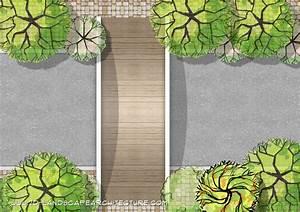 2d Garden Design Software Creating Garden Plans With Hand Drawing Landscape Symbols