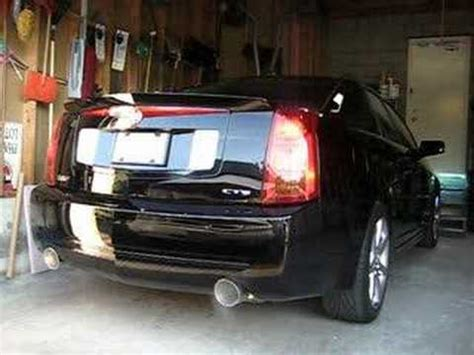 cadillac cts   bb exhaust youtube
