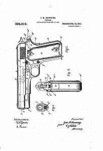 Patent Us984519 - Firearm