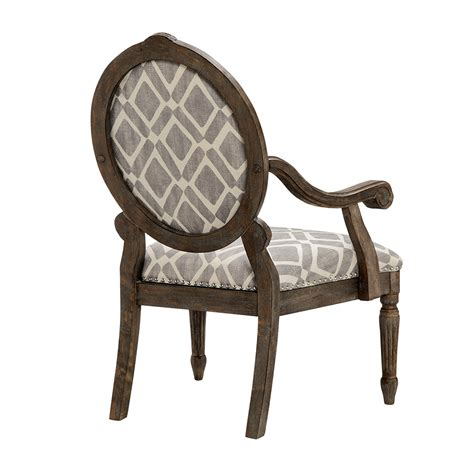 park brentwood exposed wood arm chair ebay