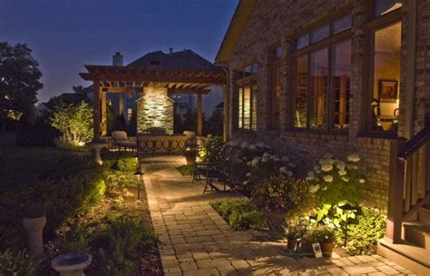 outdoor accent lighting if you need some landscaping done