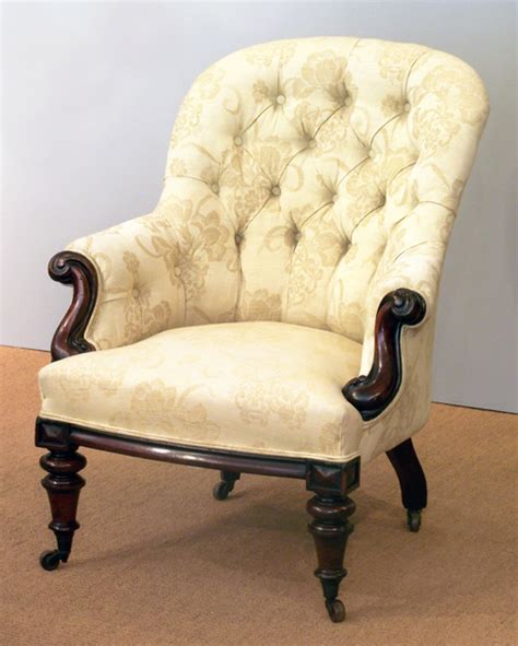 Settees And Armchairs by Button Back Armchair Antique Arm Chair