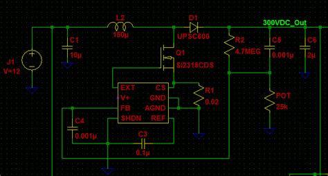 Power Supply Boost Converter Ideal
