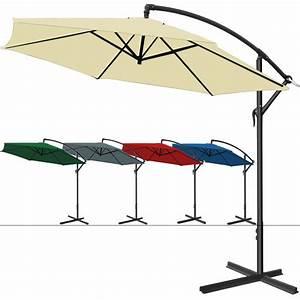 Kurbel Für Sonnenschirm Ersatzteil : alu sonnenschirm ampelschirm 300cm kurbel schirm marktschirm gartenschirm garten ebay ~ Yasmunasinghe.com Haus und Dekorationen
