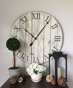 The 25 best wall clocks ideas on pinterest big clocks for What kind of paint to use on kitchen cabinets for handmade wall clock art