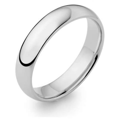 mens platinum wedding ring mm  shape  sale