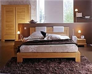 Deco Chambre A Coucher : deco chambre zen chic ~ Teatrodelosmanantiales.com Idées de Décoration