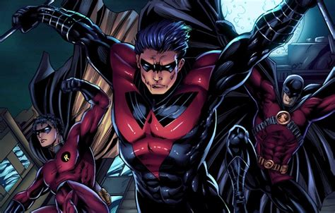 Wallpaper Fiction, Batman, Heroes, Art, Dc Comics, Robin