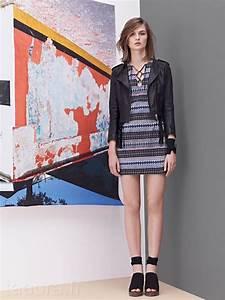 maje looks collection printemps ete 2012 taaora blog With robe de cocktail combiné avec bracelet cuir noir