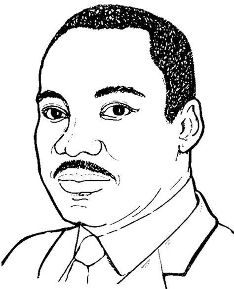 preschool martin luther king jr coloring pages  print nobi