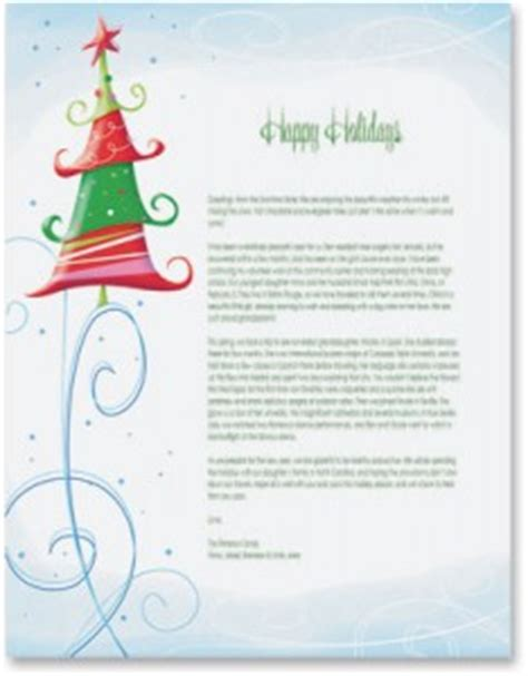 sample business christmas letters