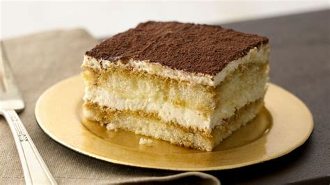 tiramisu recipe bettycrockercom