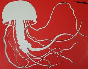 Jellyfish Stencil by dharmasimone on DeviantArt