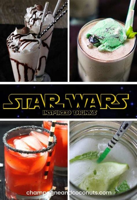 Star Wars Drinks for your Cantina - Champagne and Coconuts