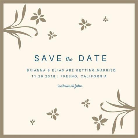 customize save date invitation templates canva