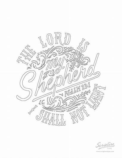 Psalm Coloring Drawing Scripture Getdrawings Type