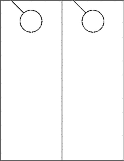 door hangers printable door hangers ol