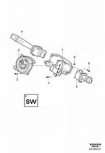 Volvo Xc90 Air Bag Clockspring  Steering  Dstc  Column
