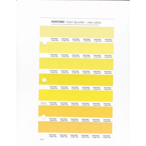 pantone   tpg yellow pear replacement page fashion