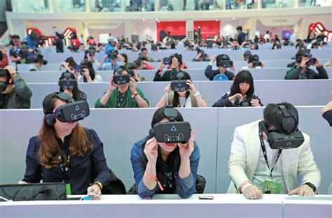 People Wearing Vr Headsets Are Invited To Join A Vr