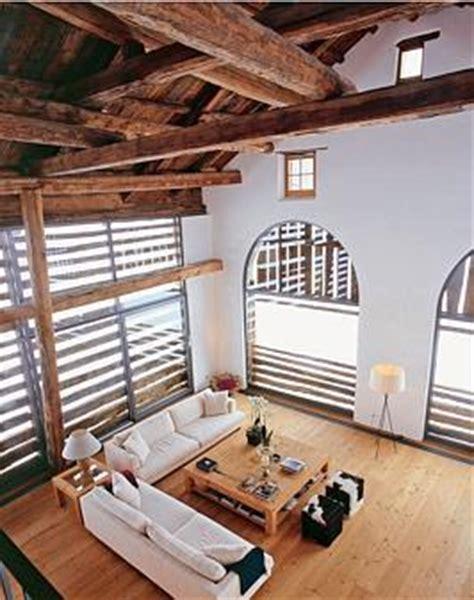 bauernhof alte scheune verwandelt sich  modernes loft