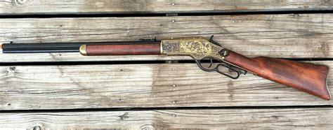 winchester m1873 engraved lever rifle 1873 west denix replica ebay