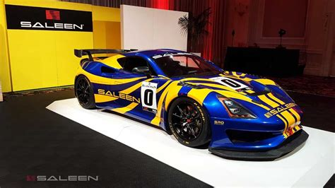 saleen gt concept debuts   lightweight mid engine