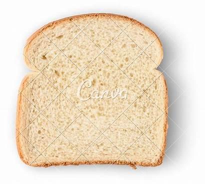 Bread Slice Isolated Canva Screen