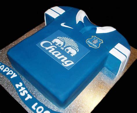 everton jersey birthday cake  nadas cakes canberra