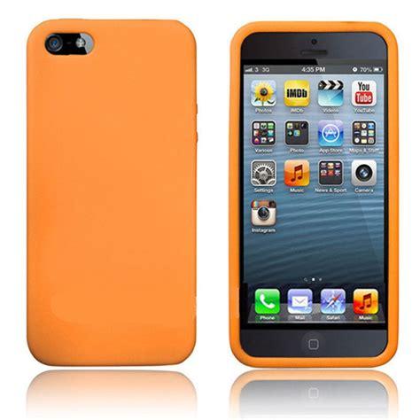 silicone for iphone 5 5s orange