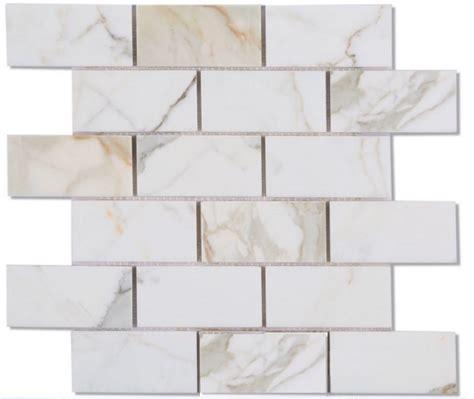 15 95sf calacatta italian marble 2x4 quot subway tile