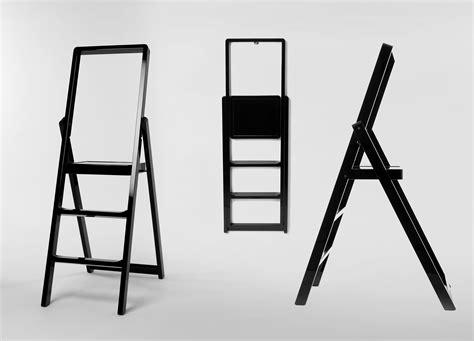 step stepladder foldable black  design house stockholm