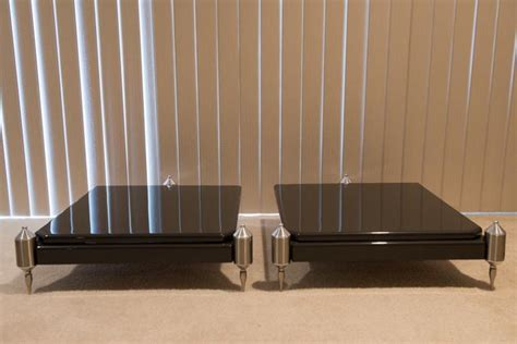 grand prix audio monaco amp stand  formula shelf
