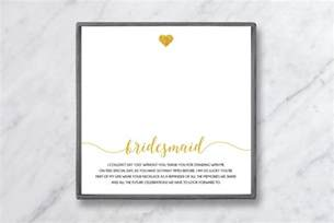 bridesmaid thank you cards what to write in a bridesmaid thank you card baublebible